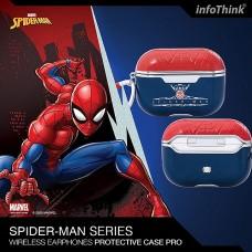 infoThink Marvel 系列 AirPods Pro 皮革保護套 - Spider Man
