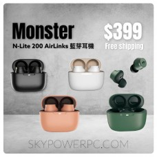Monster N-Lite 200 AirLinks 藍芽耳機