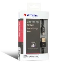 Verbatim Sync & Charge Step-up Lightning 充電傳輸線 - 30CM