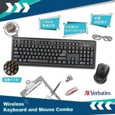 Verbatim 2.4Ghz 無線鍵盤滑鼠組合 - 66519
