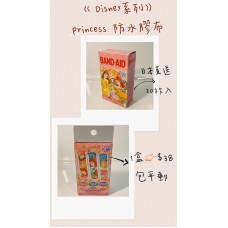 日本直送 BAND-AID Disney 系列 Princess 防水膠布