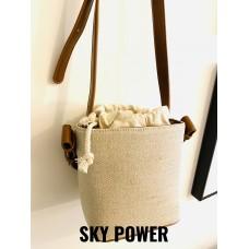 韓式水桶帆布袋