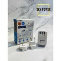 Xpower 3 USB QC3.0 智能旅行充電器 - WC3Q3